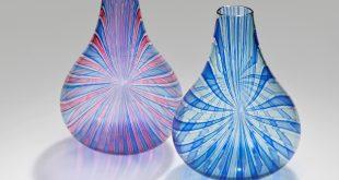 Zum Niederknien schön.  Lino Tagliapietra-Vasen. Foto: Bröhan-Museum