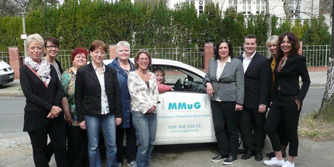 """Ambulanter Pflegedienst Berlin: """"Wir kümmern uns um alles"""""""