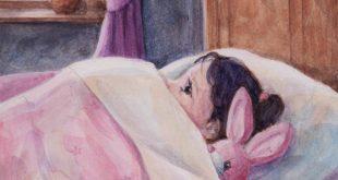 """""""Ein Stern, der in dein Fenster schaut"""". Geschichten für eine gute, friedliche Nacht. Illustration: Maria Berg. Foto: Medu Verlag"""